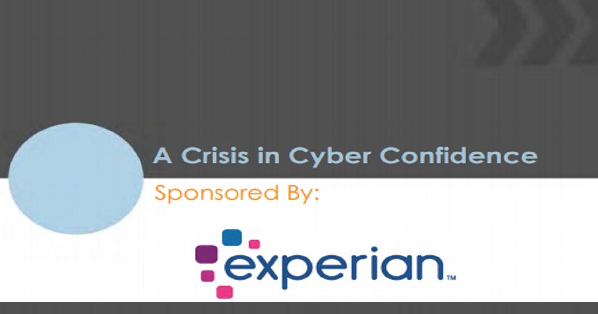 A Crisis in Cyber Confidence