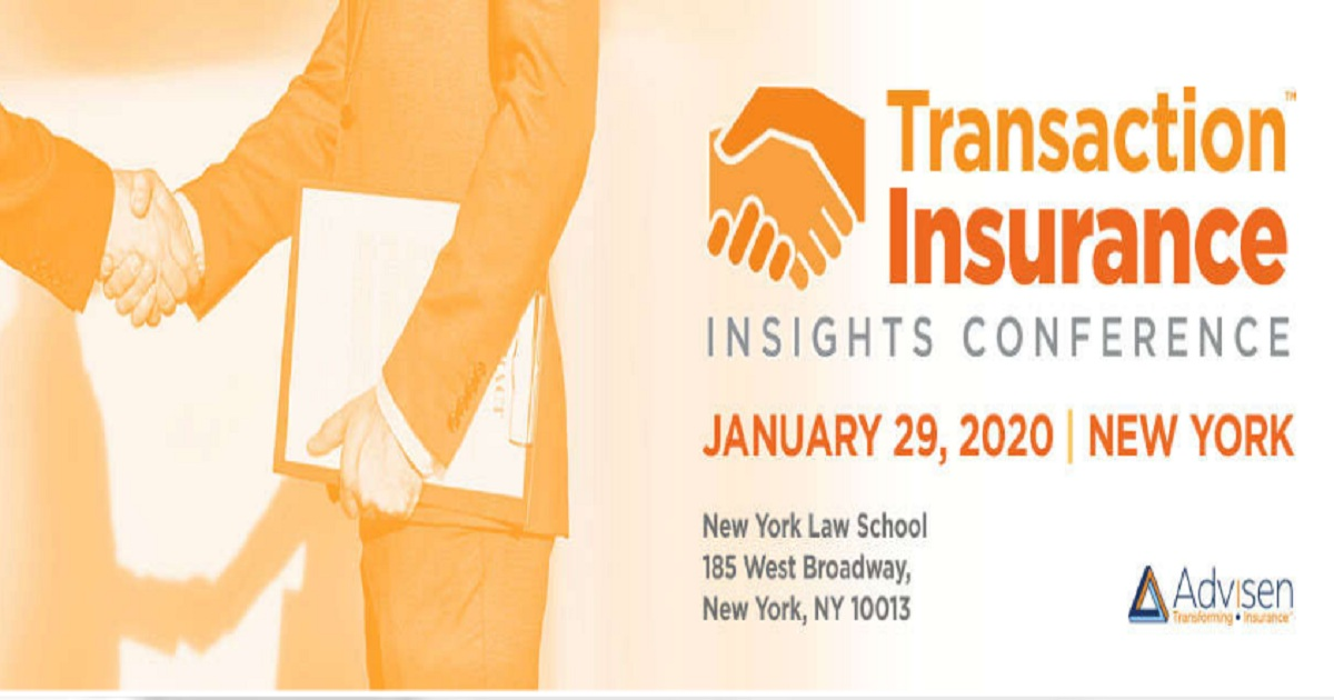 Transaction Insurance Insights Conference 2020