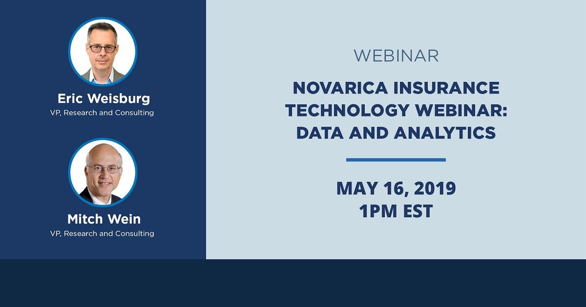 Novarica Insurance Technology Webinar: Data and Analytics