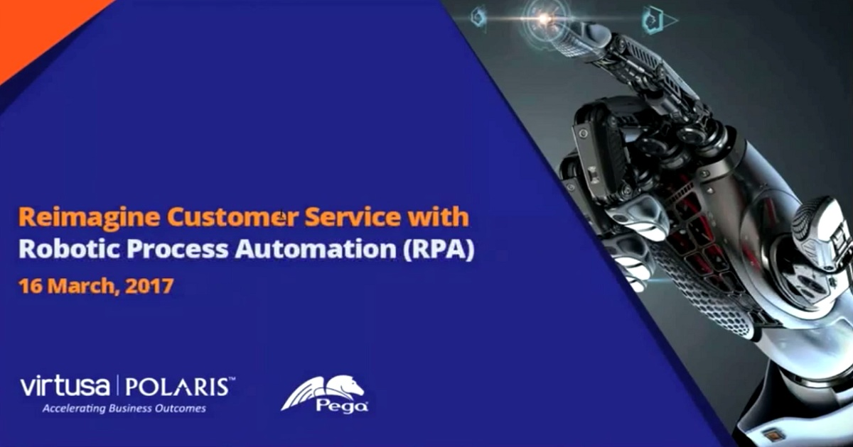 Reimagine Insurance Customer Service with Robotic Process Automation