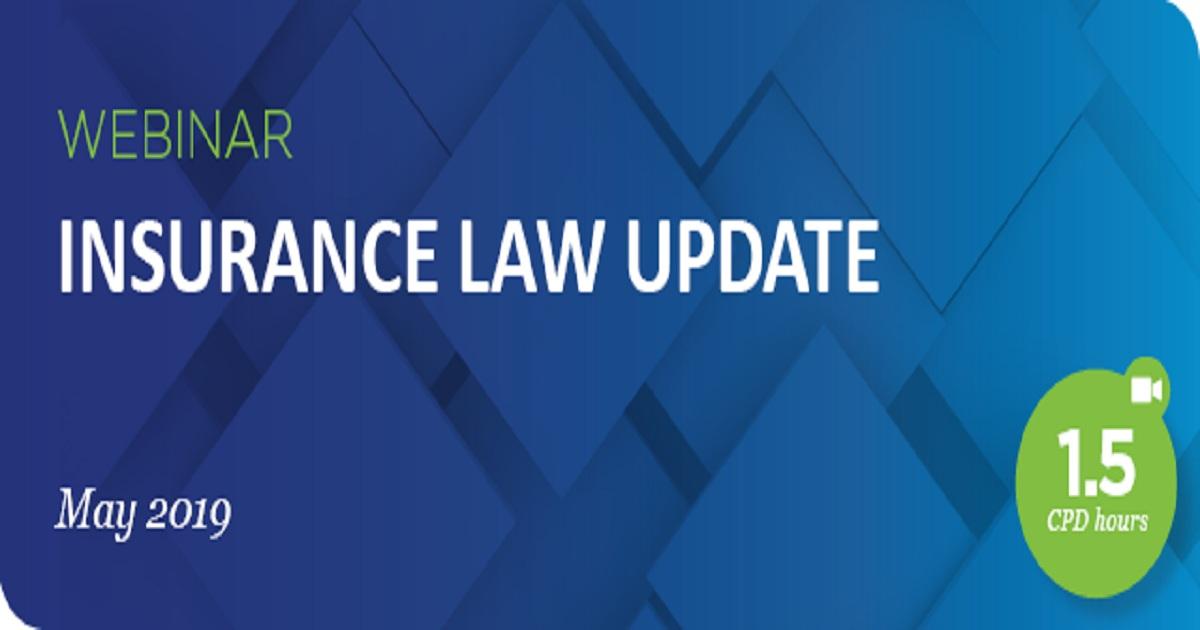 Insurance Law Update