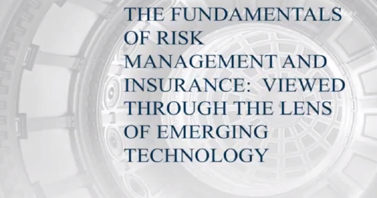 The Fundamentals of Risk Management and Insurance