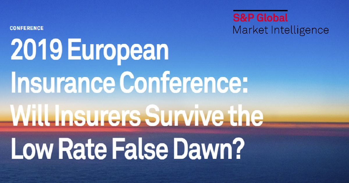 2019 European Insurance Conference