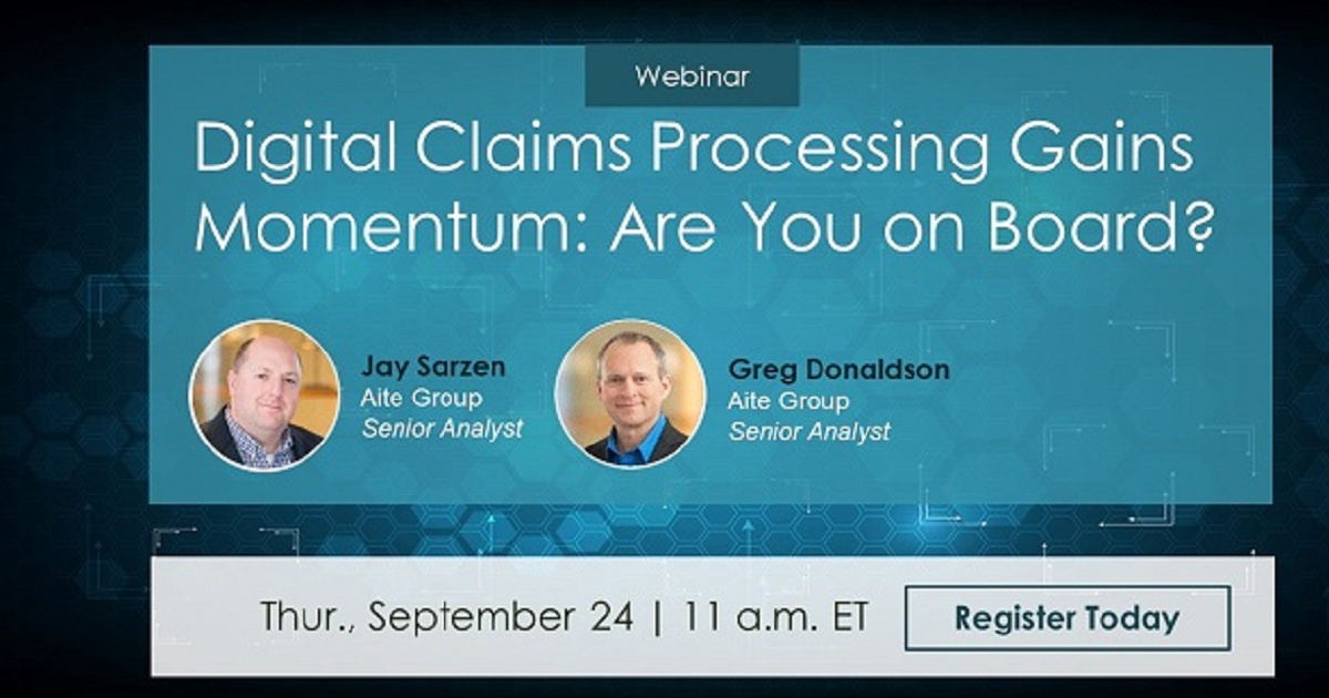 Digital Claims Processing Gains Momentum: Are You on Board?
