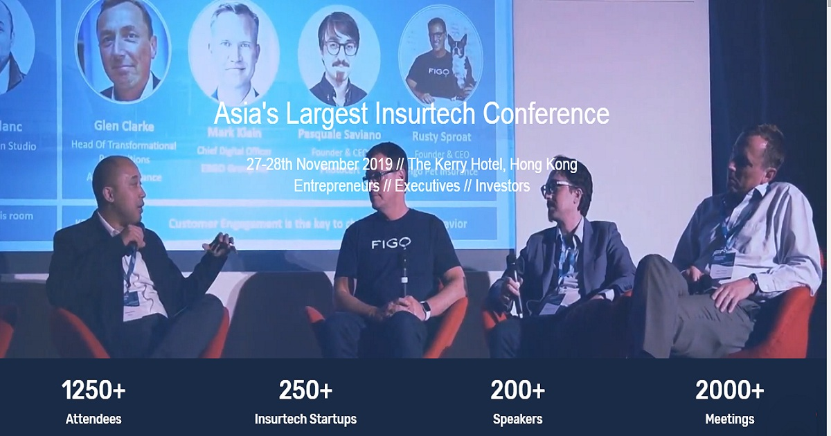 ASIA'S LARGEST INSURTECH CONFERENCE