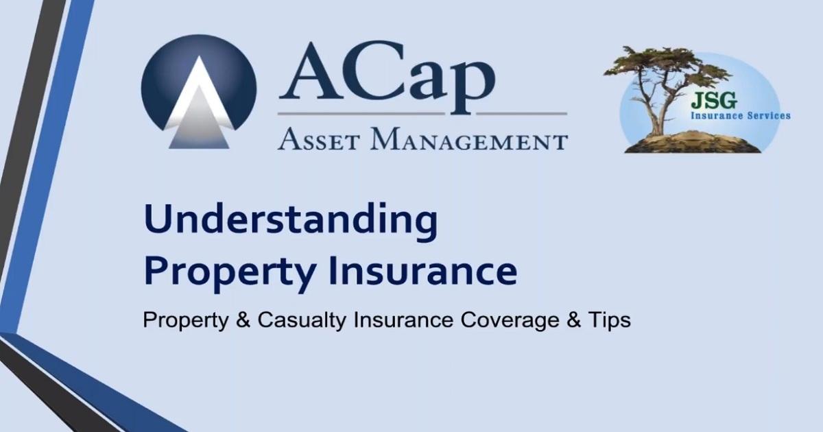 Understanding Property Insurance