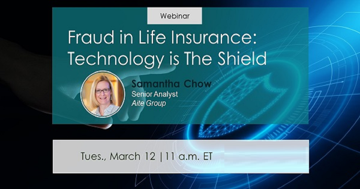 Fraud in Life Insurance: Technology Is the Shield