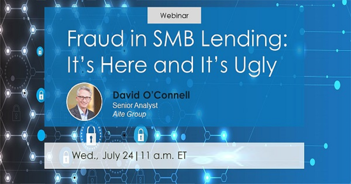 Fraud in SMB Lending: It's Here and It's Ugly