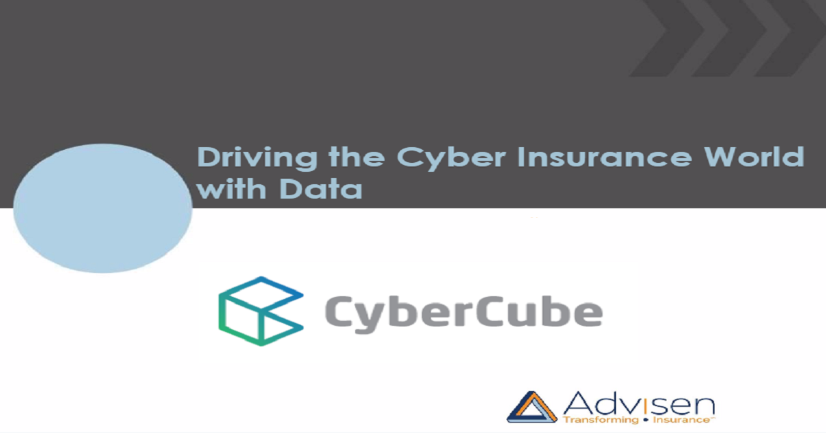 Driving the Cyber Insurance World with Data