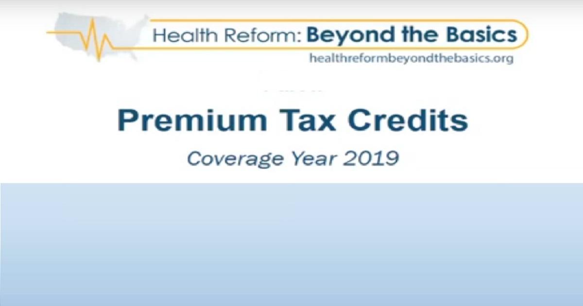 The Premium Tax Credit