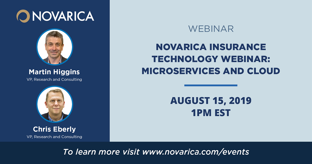 Novarica Insurance Technology Webinar: Microservices and Cloud