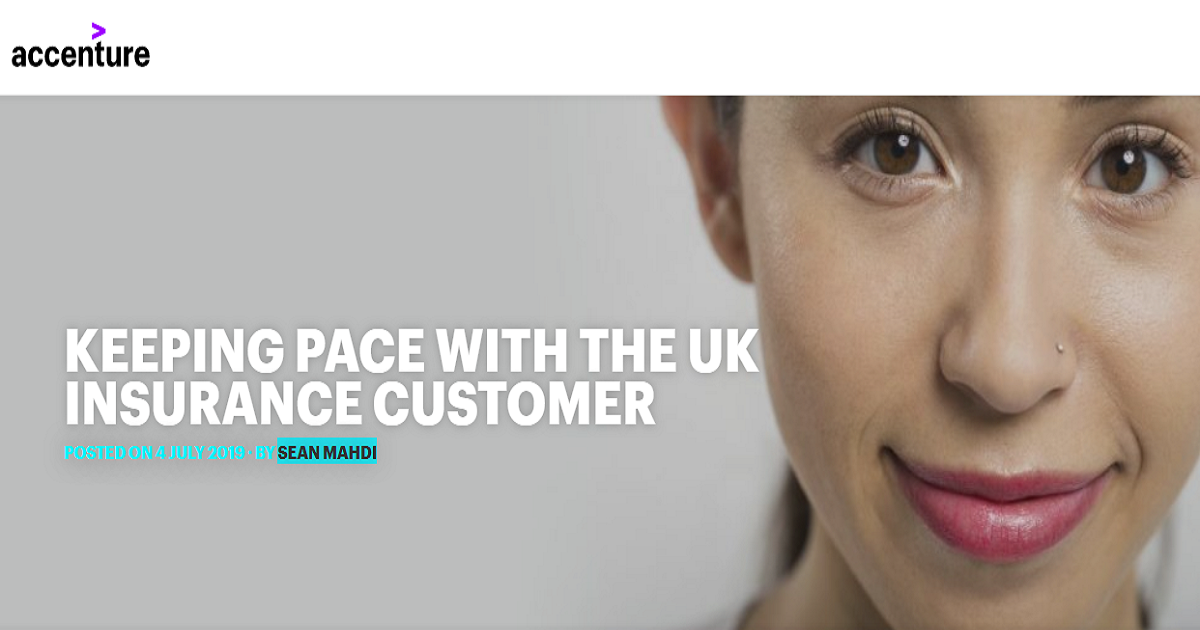 KEEPING PACE WITH THE UK INSURANCE CUSTOMER