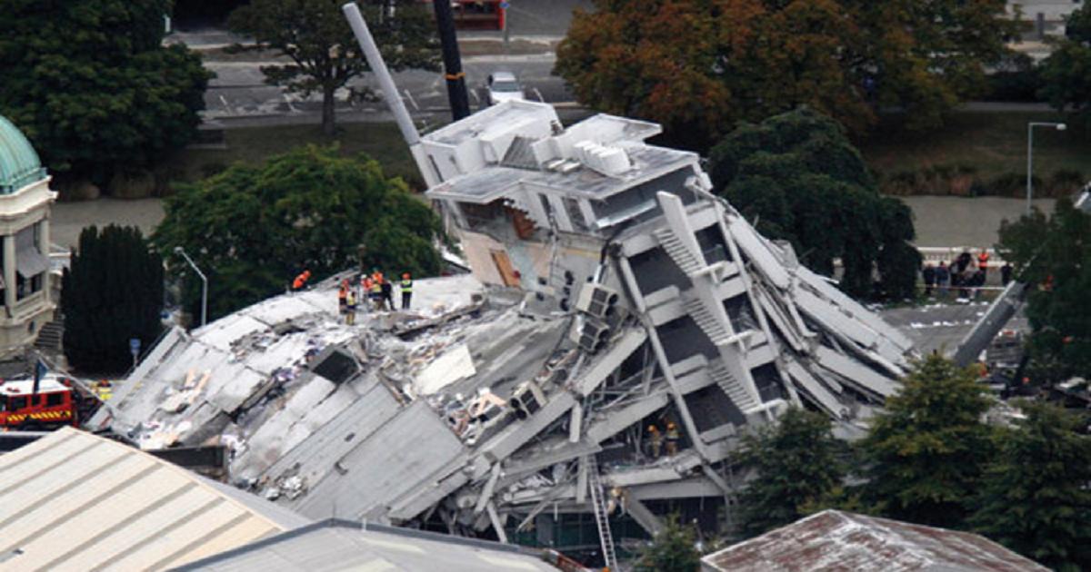 INSURERS PAID OUT NZ$40BN FOLLOWING CHRISTCHURCH EARTHQUAKE