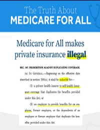 THE TRUTH ABOUT MEDICARE FOR ALL