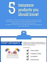 5 INSURANCE PRODUCTS YOU SHOULD KNOW!