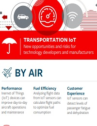 TRANSPORTATION IOT NEW OPPORTUNITIES AND RISKS FOR TECHNOLOGY DEVELOPERS AND MANUFACTURERS